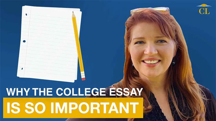 Why the college essay is so important
